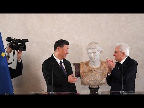 Italien / China: »Neue Seidenstraße« - Xi Jinping auf ...