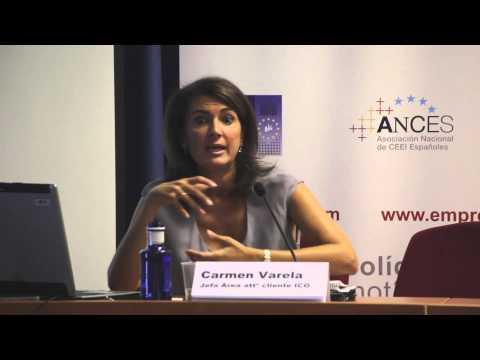 Carmen Varela ICO. Foro de Financiación a la Innovación