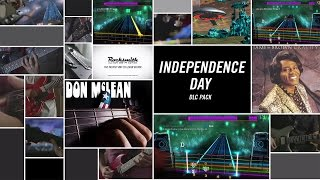 "Learn to play 4 patriotic songs which span folk rock, country, funk, and classic rock in honor of America's Independence Day! ""American Pie"" by Don McLean, ""..."