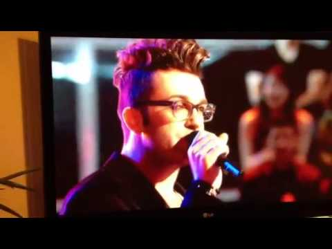 Knock Out Round on the Voice USA 2013 - Luke Edgemon Sings Teenage Dream (видео)