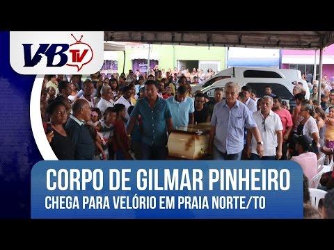VBTv | Corpo de ex-prefeito assassinado chega para velório