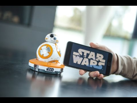 Star Wars Episode VII: BB-8 App-Enabled Droid – Built by Sphero