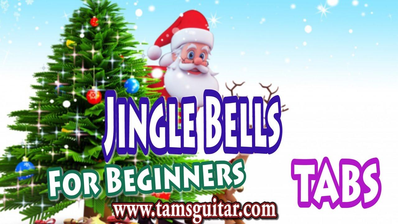 Jingle bells  guitar lesson for Beginners and Kids | Christmas Carol guitar tutorial