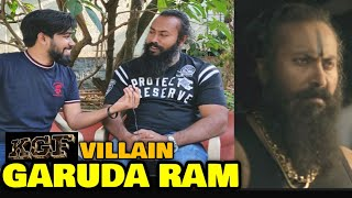 KGF Chapter 1 VILLAIN Garuda In Conversation With FilmiFever   Ramachandra Raju   Yash   Bengaluru