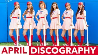 THE EVOLUTION OF APRIL (에이프릴) - TRIBUTE (2015-2017)Hey guys, it's Jon back once more with another discography! Many of you know that I am April's biggest fan, and a huge Fineapple, so I present you my labour of love, April's discography!SOCIAL MEDIA LINKS:★ K-Pop Fan Forum: ► https://goo.gl/5H7G6w★ Listen to us on K-Ville Radio! ► https://goo.gl/f6rNLS★ Facebook ► https://goo.gl/lqVWYH★ Twitter ► https://goo.gl/1PbQBY★ VK ► https://goo.gl/xhYv0n★ Pinterest ► https://goo.gl/plcrpw★ Tumblr ► https://goo.gl/Sl4w2E★ Google Plus ► https://goo.gl/ZGiblc★ Instagram ► @kville_entWebsite ► https://kvilleonline.com/APRIL SONGS:Dream CandyMuah!SnowmanTinker BellApril StoryMaydayLovesick