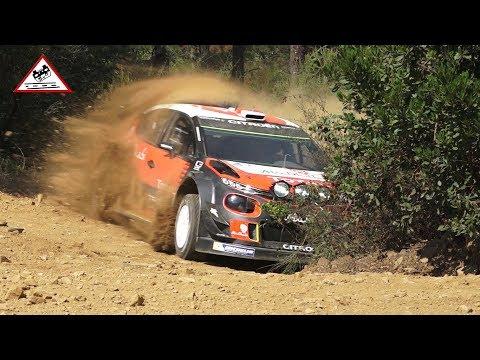 Test Loeb and Lefebvre | Citroën C3 WRC 2017 [Passats de canto]