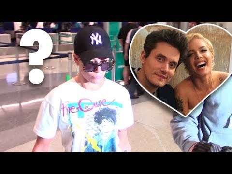Halsey Asked If She's Dating John Mayer Upon Arrival In L.A.!!!