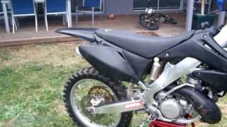 6. 2004 honda cr 250