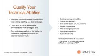This week we hosted our healthcare webinar educating our audience of how to build their BI roadmap. We believe creating a BI...