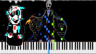 Video Undertale� // Dark, Darker, Yet Darker | LyricWulf Piano Tutorial on Synthesia MP3, 3GP, MP4, WEBM, AVI, FLV Mei 2018