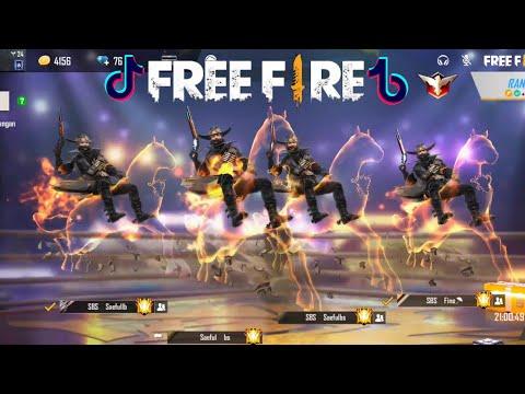 Tik Tok Free Fire (Tik tok ff)Slowmo,Kuda,Pro Bar Bar,Emote Baru,Auto Booyah