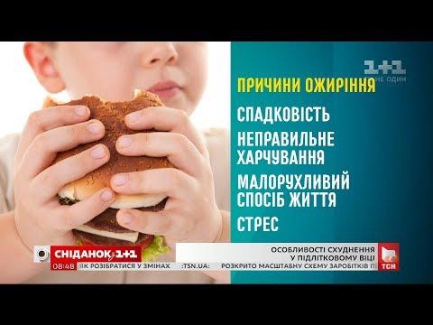 Особливості схуднення підлітків - гастроентеролог Наталія Чернега
