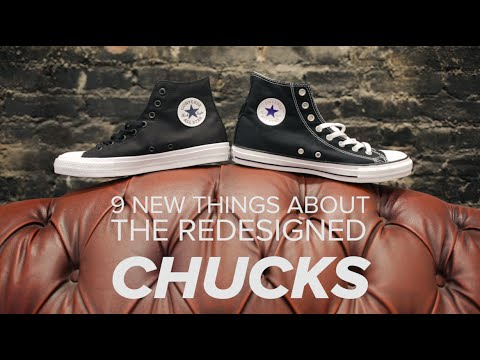 9 new things about the redesigned Chucks