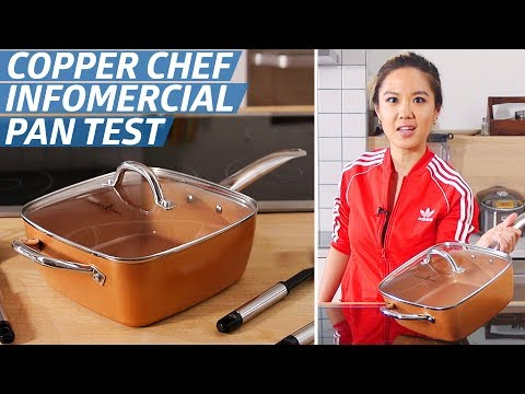 Does The Copper Chef Pan Live Up To Its Bold Infomercial Claims? — The Kitchen Gadget Test Show