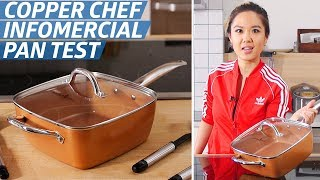 Does the Copper Chef Pan Live Up to Its Bold Infomercial Claims? — The Kitchen Gadget Test Show by Eater