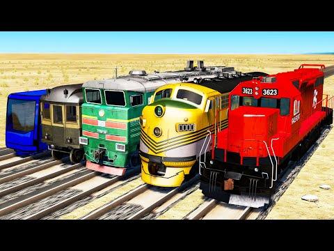 Train Championship #1 - Beamng drive