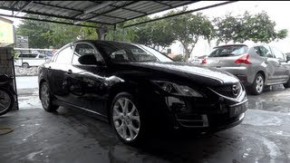 2008 Mazda 6 2.0 Start-Up And Full Vehicle Tour