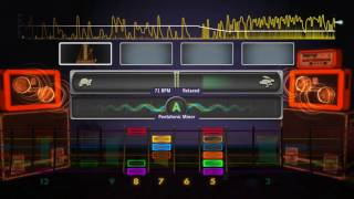 Rocksmith 2014 XBOX ONE Session Mode Left Handed Guitarist. XBOX ONE Gameplay. 21.07.17.