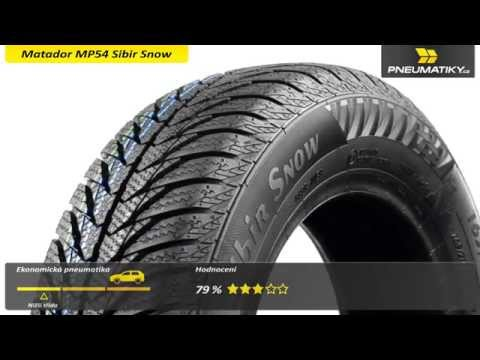 Youtube Matador MP54 Sibir Snow 185/70 R14 88 T Zimní
