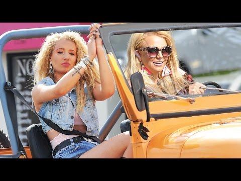 Iggy Azalea & Britney Spears 'Pretty Girls' Music Video Preview