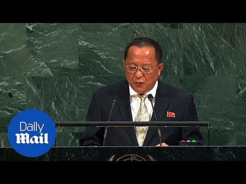North Korea foreign minister says rockets to US is 'inevitable' - Daily Mail