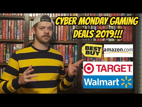 Best Cyber Monday Gaming Deals? (2019) Xbox, Nintendo and Sony Playstation