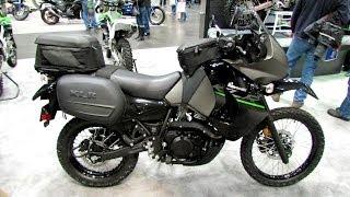 9. 2014 Kawasaki KLR650 Accessorized Walkaround - 2013 New York Motorcycle Show