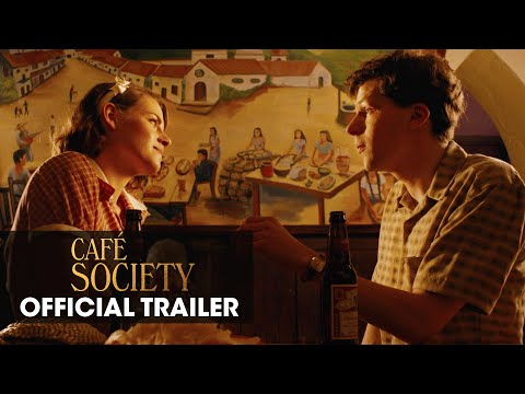 Caf  Society Official Trailer Woody Allen