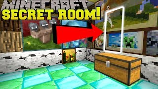 Minecraft: SECRET ROOM IN A SECRET ROOM!! - POPULARMMOS MAP - Custom Map [2]