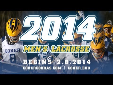 2014 Coker College Men's Lacrosse