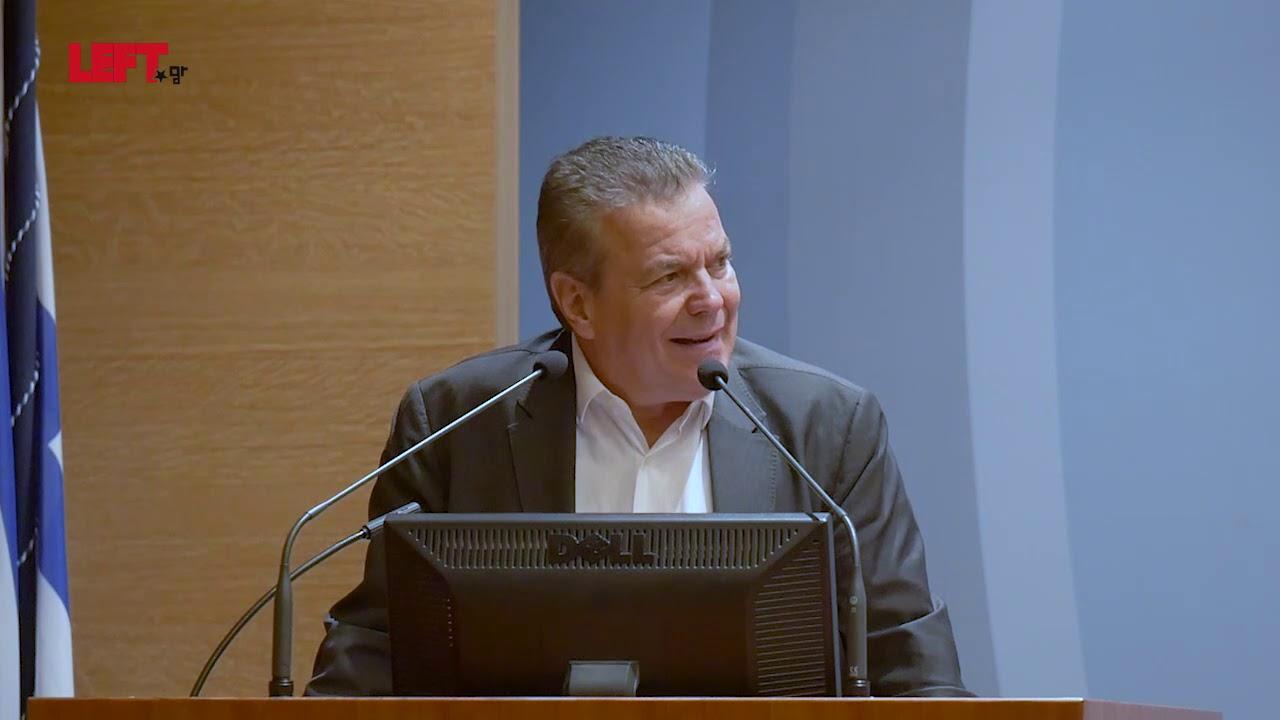 Προκλήσεις και προτάσεις για το Ασφαλιστικό Σύστημα -Τάσος Πετρόπουλος