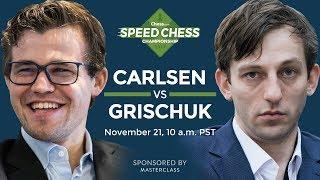 Video Speed Chess Championship: Magnus Carlsen Vs Alexander Grischuk MP3, 3GP, MP4, WEBM, AVI, FLV Juni 2018