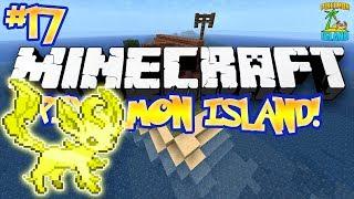 """SHINY LEAFEON!"" - PIXELMON ISLAND ADVENTURE! (Minecraft Pokemon Mod) - #17"