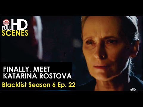 Finally, meet Katarina Rostova Blacklist Season 6 Ep  22 Full HD