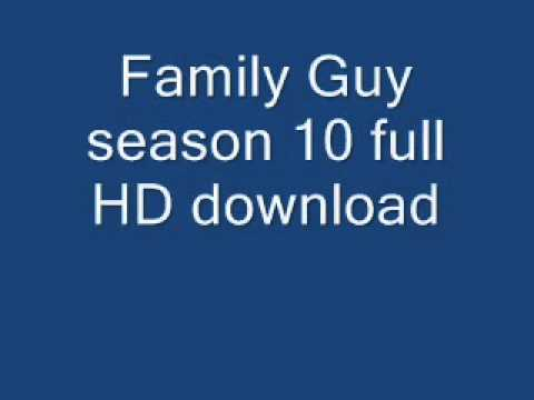 Family Guy Season 10 full HD download