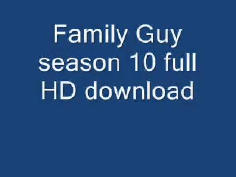 Family Guy Season 10 full HD download
