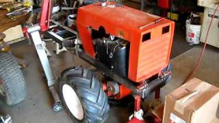 5. case 222 articulating 4x4 tractor project