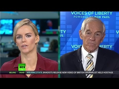 Ron Paul on Fed hikes and Scotland's future hangs in the balance