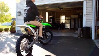6. NEW DIRT BIKE EXHAUST | KX250F FMF 4.1