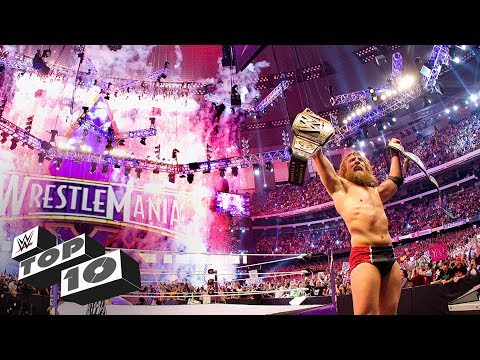 Video Greatest WrestleMania endings: WWE Top 10, March 31, 2018 download in MP3, 3GP, MP4, WEBM, AVI, FLV January 2017