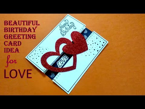 Birthday wishes for best friend - Beautiful Birthday Greeting Card Idea for LOVE  Complete tutorial