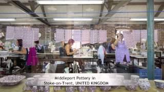 Stoke On Trent United Kingdom  city photo : Middleport Pottery in Stoke-on-Trent, UNITED KINGDOM