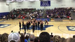 DanceFullOutMN - Eden Prairie Dance Team Kick 2015