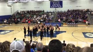 DanceFullOutMN - Eden Prairie Dance Team Kick 2015