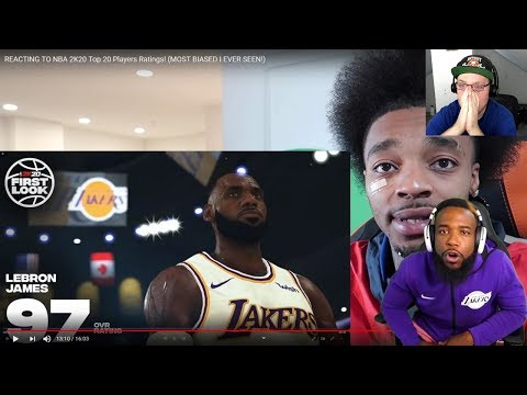 Reacting To CashNasty Reacting To FlightReacts Reacting To NBA 2K20 Player Ratings