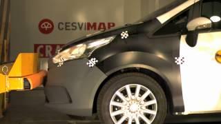Bumper test Ford B-MAX delantero en CESVIMAP