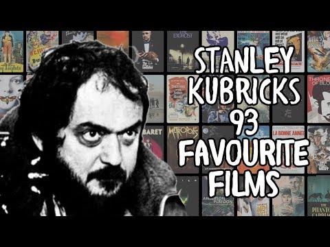 Stanley Kubrick's 93 Favourite Films