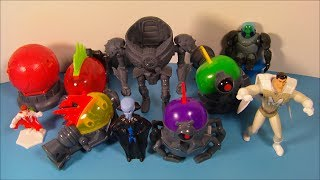 2010 DREAMWORKS MEGAMIND SET OF 8 McDONALD'S HAPPY MEAL MOVIE TOY'S VIDEO REVIEW