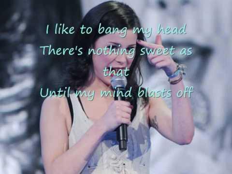 Tekst piosenki Lena Meyer-Landrut - I Like To Bang My Head po polsku