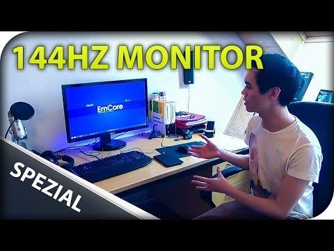 Mein neuer Monitor mit 144Hz und 27 Zoll - Asus VG278HE